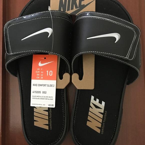 3cb5adf677598 Nike Mens Comfort Slide2 Sz  10 NWT